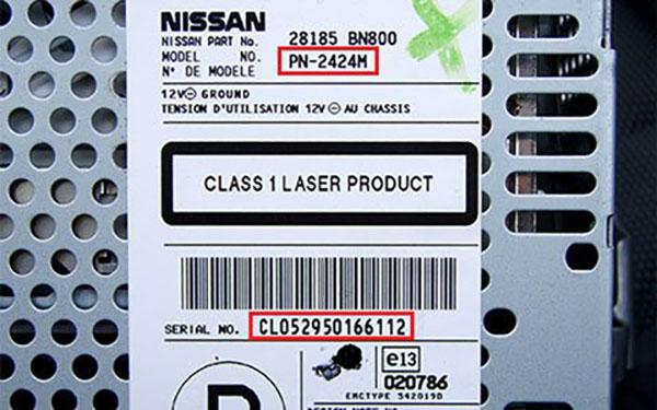 Obtenir le Code Radio Nissan Qashqai gratuit en ligne 2019 ...