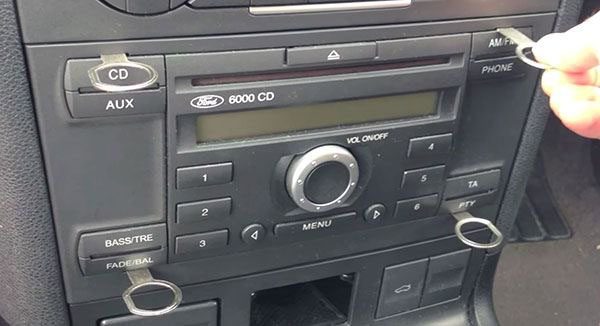 autoradio code Ford Sony CD132 gratuit